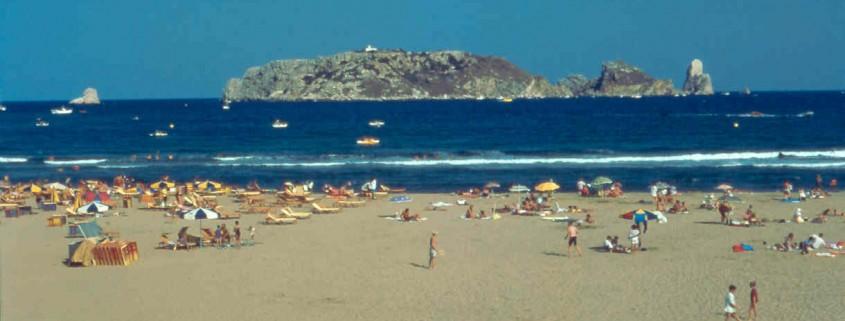 Islas Medas en verano